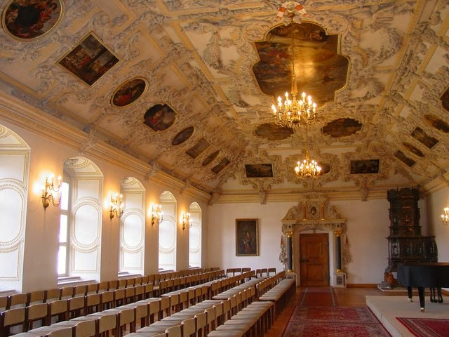 Festsaal des Klosters Benediktbeuren